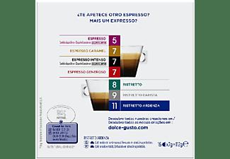 Cápsulas monodosis - Nescafé Dolce Gusto Ristretto Ardenza, 16 Cápsulas