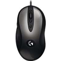 LOGITECH MX 518 Gaming Maus, Grau/Schwarz