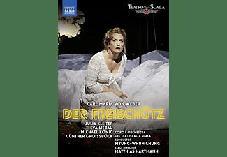Eva Liebau, Michael König, Günther Groissboeck, Orchestra E Coro Del Teatro Alla Scala, Julia Kleiter - Der Freischütz  - (DVD)