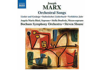 Bochum Symphonie Orchestra, VARIOUS - Joseph Marx: Orchestral Songs - (CD)