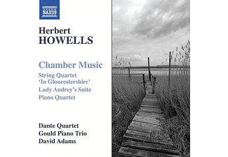 David  Adams, Dante Quartet, Gould Piano Trio - Herbert Howells: Chamber Music - (CD)