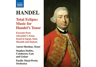 Aaron Sheehan, Pacific Musicworks Orchestra - Total Eclipse: Music For Handel's Tenor - (CD)