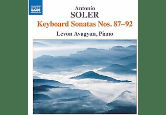 Levon Avagyan - Keyboard Sonatas Nos. 87-92  - (CD)