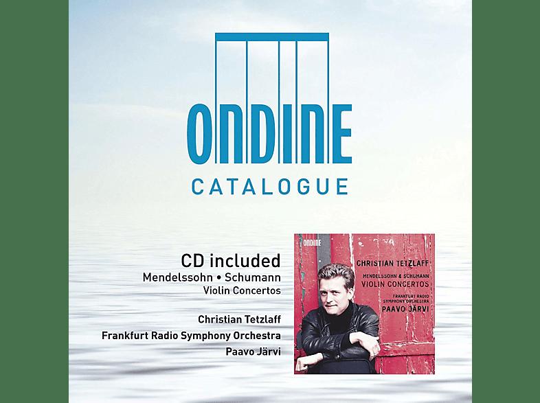 Tetzlaff Christian, Radio Symphony Orchestra Frankfurt - Violinkonzerte [CD]