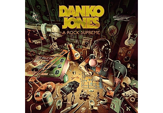 Danko Jones - A ROCK SUPREME (GTF.CLEAR GREEN VINYL) - (Vinyl)