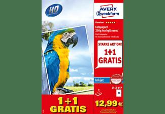 AVERY ZWECKFORM 2556-15P Premium Inkjet Fotopapier 210 x 297 mm 210 x 297 mm A4  30 Blatt