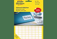 AVERY ZWECKFORM 3306  Mini-Organisations-Etiketten  13x8 mm  3.712 Etiketten / 29 Bogen