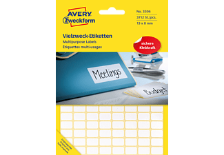 AVERY ZWECKFORM 3306, Mini-Organisations-Etiketten