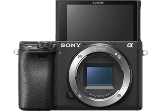 SONY Alpha 6400 Body (ILCE6400) Systemkamera, 7,6 cm Display Touchscreen, WLAN