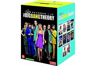 The Big Bang Theory (Temporada 1 - 10) - DVD