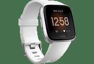 FITBIT Smartwatch Versa Lite Gr. S & L, weiß/silber