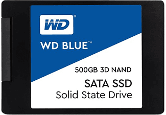 WD Blue 3D SATA SSD 500GB up to 560MB/s, up to 95K IOPS