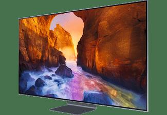 SAMSUNG GQ75Q90R QLED TV (Flat, 75 Zoll / 189 cm, UHD 4K, SMART TV)