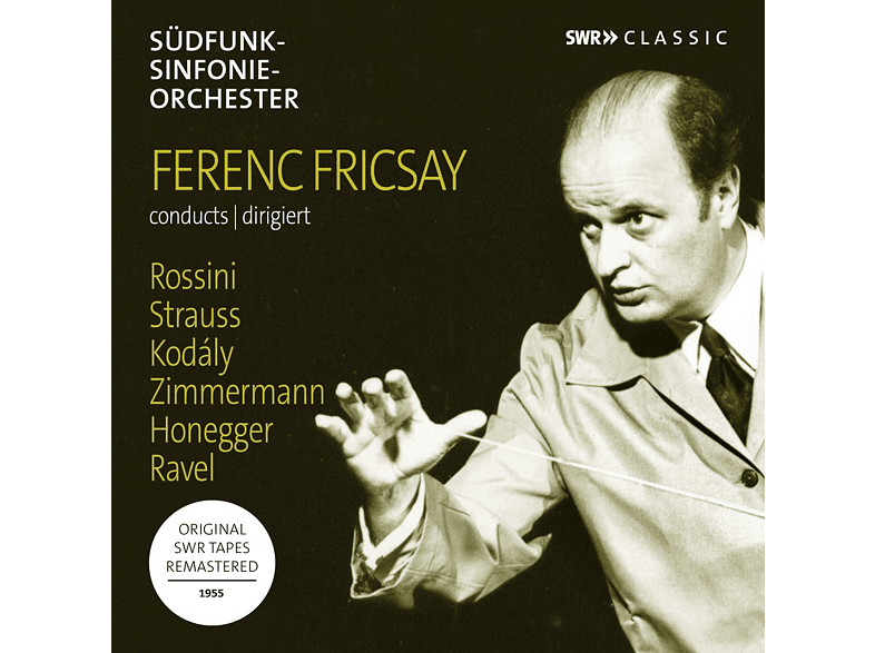 Margrit Weber, Symphonieorchester Des Süddeutschen Rundfunks - Ferenc Fricsay dirigiert [CD]