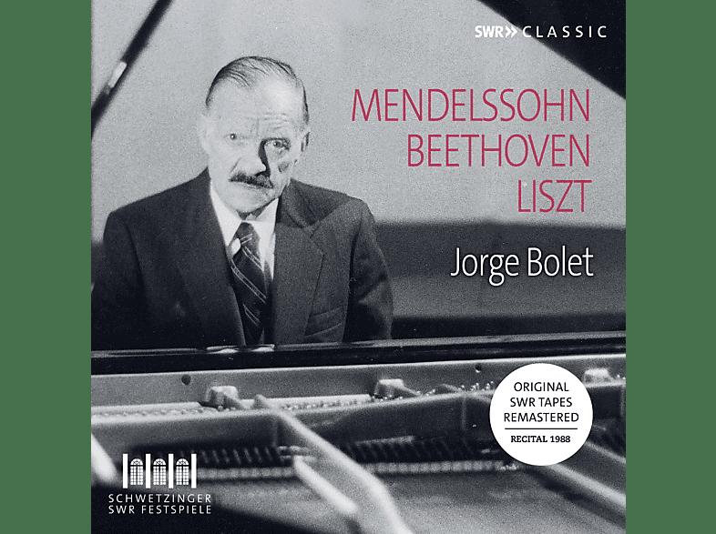 Jorge Bolet - Jorge Bolet: Piano Recital 1988 [CD]
