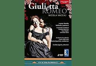 Raffaella Lupincacci, Orchestra Accademia, Teatro Alla Scala, Bonilla Leonor - Giulietta e Romeo  - (DVD)