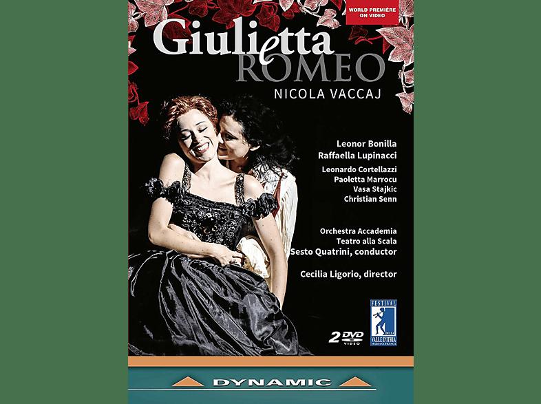 Raffaella Lupincacci, Orchestra Accademia, Teatro Alla Scala, Bonilla Leonor - Giulietta e Romeo [DVD]
