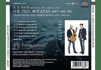 Johann Sebastian Bach, Extravagantia Duo - 6 Triosonaten,BWV 525-530  - (CD)