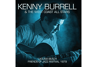 Kenny Burrell - Laguna Beach-Friends Of Jazz - (CD)