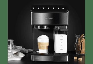 Cafetera semiautomática - Cecotec Power Instant-ccino 20 Touch, 20 bares, Táctil, Depósito de Leche
