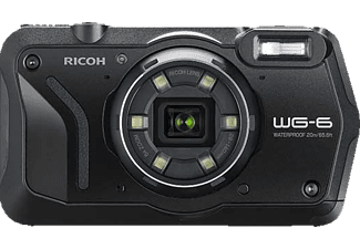 RICOH WG-6 - Appareil photo compact (Résolution photo effective: 20 MP) Noir