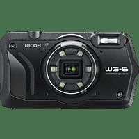 RICOH WG-6 Kompaktkamera Schwarz, 20 Megapixel, 5x opt. Zoom, 3 Zoll TFT-Farb Display