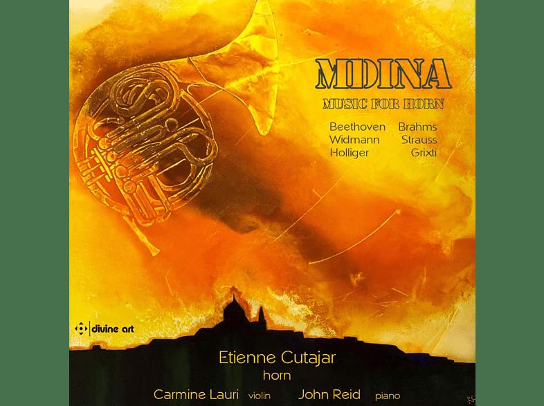 Etienne Cutajar, Carmine Lauri, John Reid - MDINA-Musik für Horn [CD]