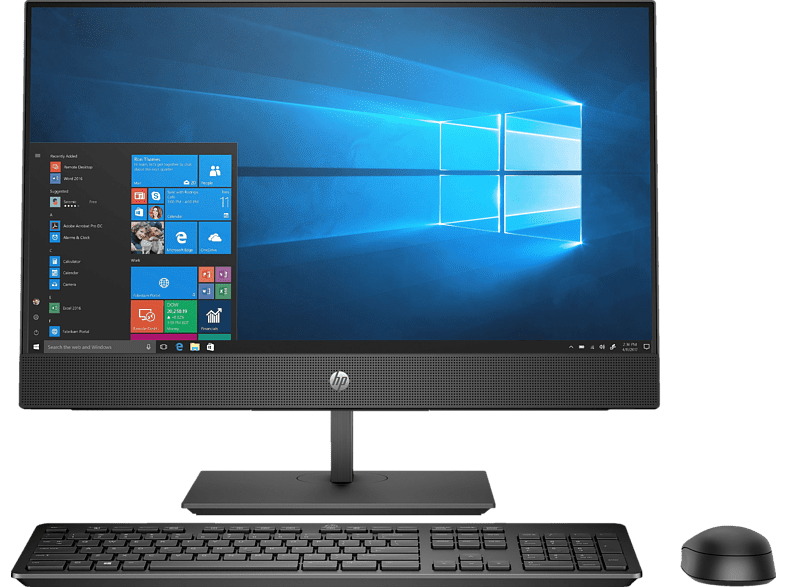 HP ProOne 440 G4 All-in-One PC, Schwarz