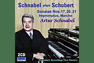 Artur Schnabel - SONATAS NR 17, 20,21, IMPROMPTUS + [CD]