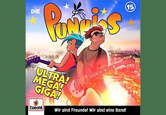 Die Punkies - 015/Ultra! Mega!! Giga!!!  - (CD)