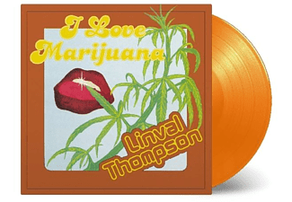 Linval Thompson - I Love Marijuana  (ltd oranges Vinyl) - (Vinyl)