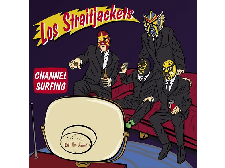 Los Straitjackets - Channel Surfing [EP (analog)]