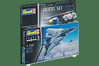 REVELL Model Set F-14D Super Tomcat Bausatz, Mehrfarbig