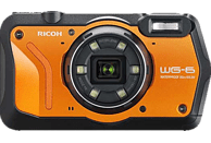 RICOH WG-6 Kompaktkamera Orange, 20 Megapixel, 5x opt. Zoom, 3 Zoll TFT-Farb Display