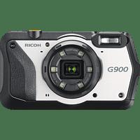 RICOH G 900 Kompaktkamera Schwarz/Weiß, 20 Megapixel, 5x opt. Zoom, 3 Zoll TFT-Farb Display, WLAN