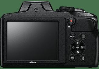 NIKON Coolpix B600 Bridgekamera Schwarz, 60x opt. Zoom, LCD-TFT, WLAN