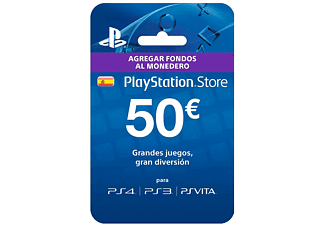 Tarjeta - Sony - PlayStation Network, Tarjeta Prepago 50