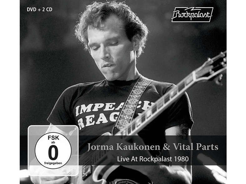 Jorma Kaukonen & Vital Parts - Live At Rockpalast 1980 [CD + DVD Video]