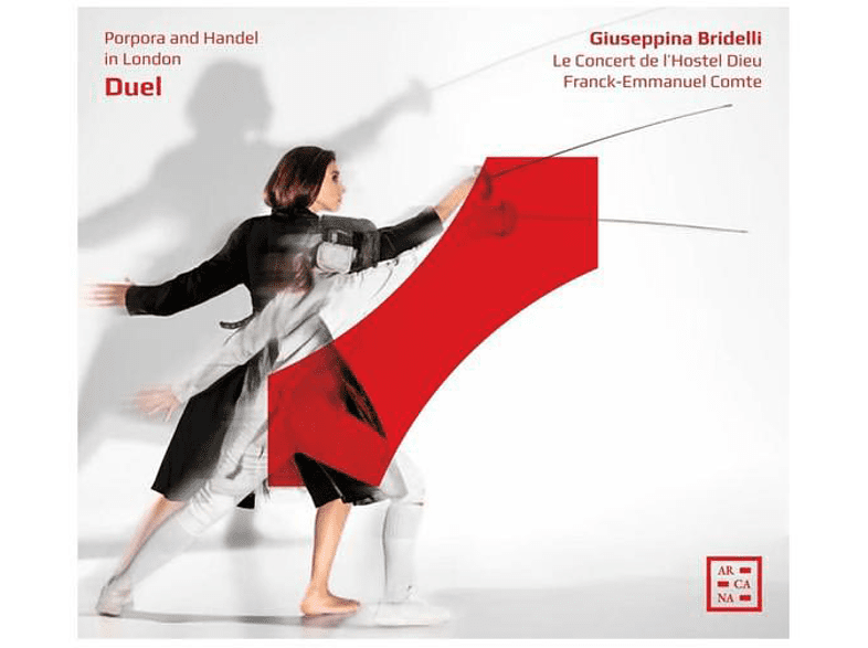 Giuseppina Bridelli (mezzosopran) - Duel-Porpora und Händel in London [CD]