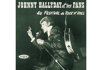 Johnny Hallyday - Johnny Hallyday Et Ses Fans Au Festival De Rock n' Roll LP