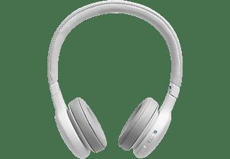 JBL Live 400 BT, On-ear Kopfhörer Bluetooth Weiß