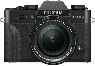 FUJI Hybride camera X-T30 + XF 18 - 55 mm Black