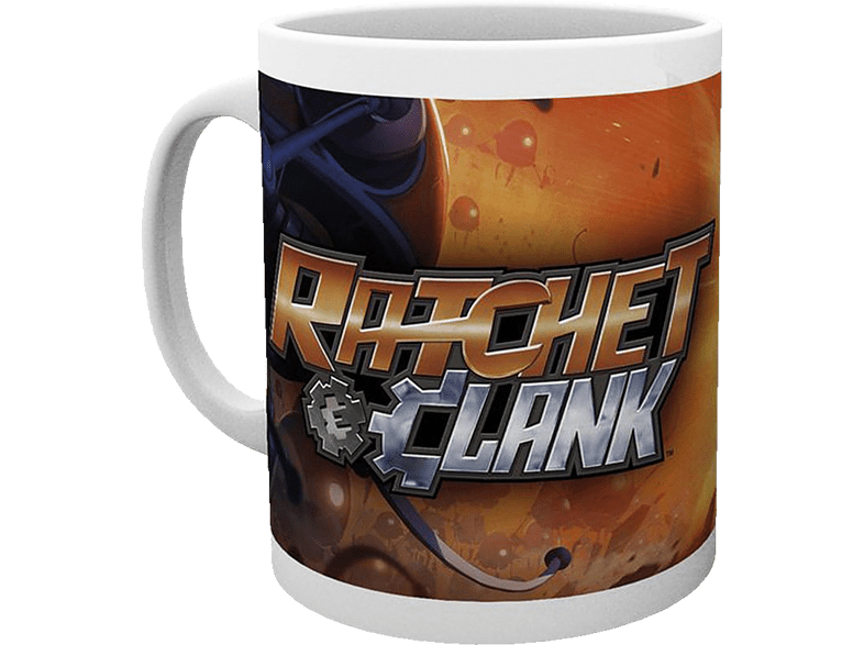 GB EYE Ratchet and Clank Tasse All For One Tasse, Weiß