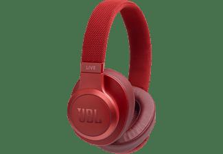 JBL Live 500 BT, On-ear Kopfhörer Bluetooth Rot