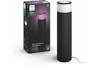 REACONDICIONADO Sobremuro pedestal inteligente LED exterior (bajo voltaje, extensión) Philips Hue Calla