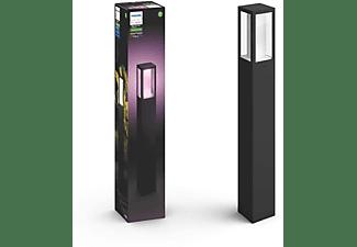 Poste columna LED exterior inteligente - Philips Hue Impress, Luz blanca y de colores