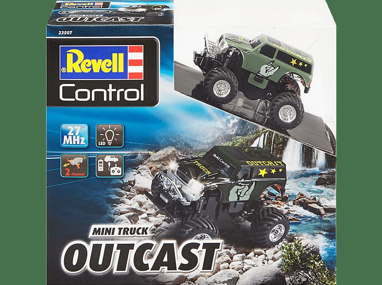 "REVELL Mini RC Truck ""OUTCAST"" R/C Spielzeugauto, Mehrfarbig"