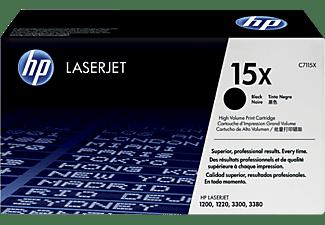 Tóner - HP 15X LaserJet, Negro, C7115X