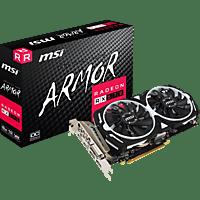 MSI Radeon RX 590 Armor 8 GB (V341-295R) (AMD, Grafikkarte)