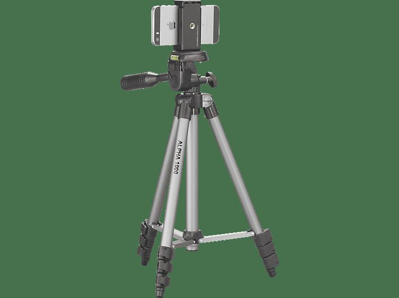 CULLMANN Alpha 1000  Stativ, Silber, Höhe offen bis 106 cm